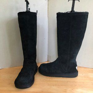 UGG tall boots 1891 Greefield Suede Black
